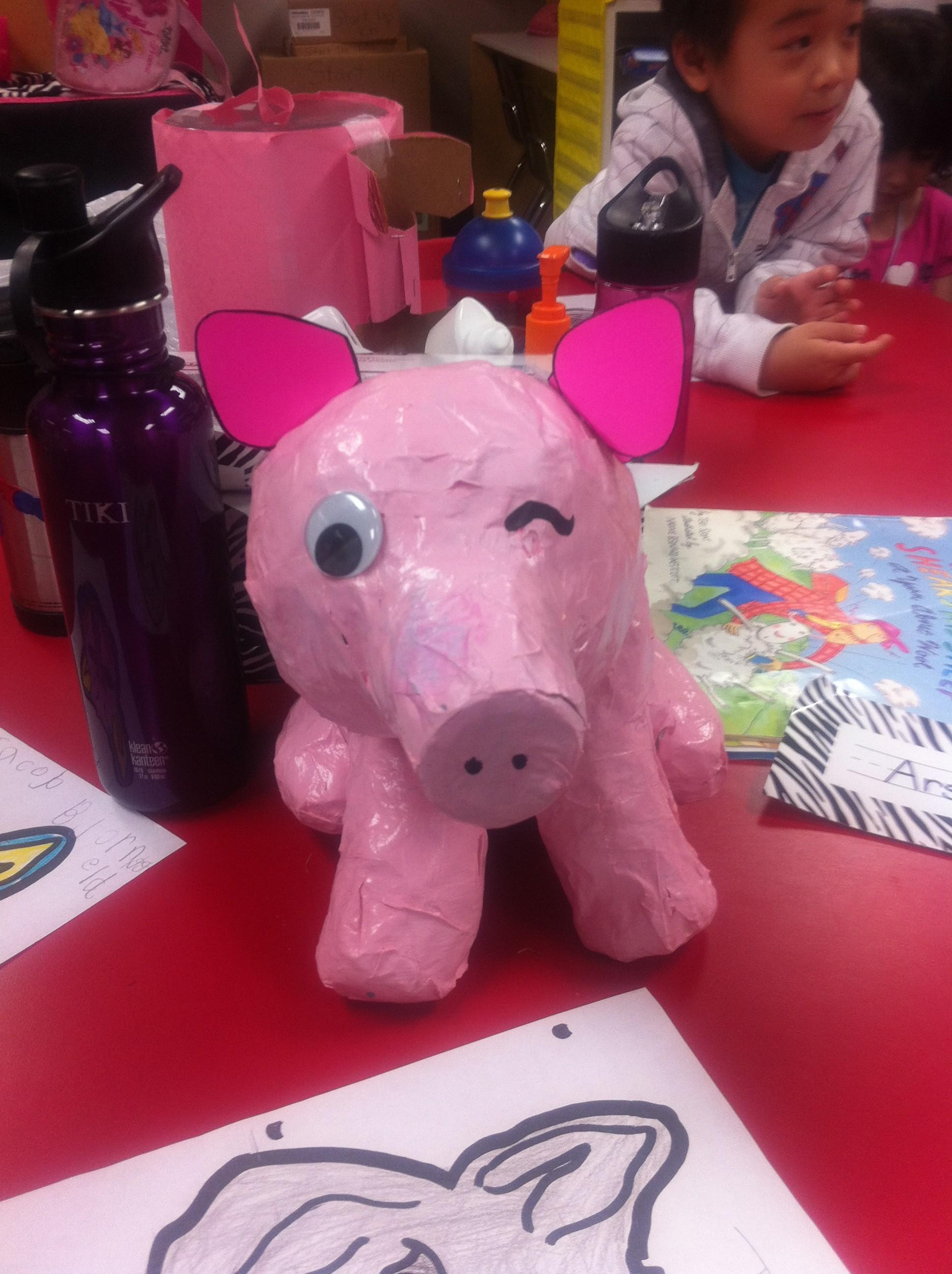 Winking Pig