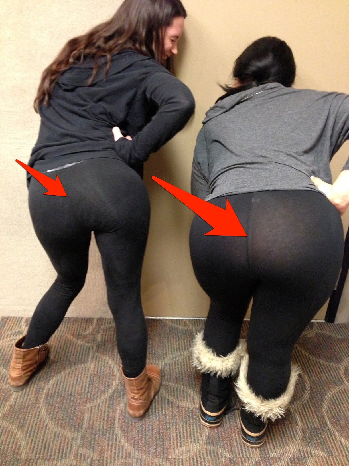 Lululemon yoga pants through see pictures
