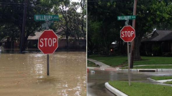 #houstonflood via twitter